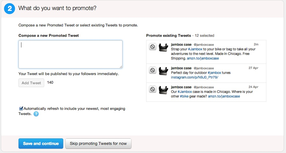 Promoted Tweets - Advertise On Twitter