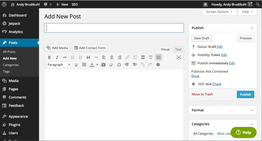 Zendesk WordPress Plugin Interface